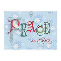 Taylor FSC Certified Personalized Economy Cards, 7 inch; x 5 inch;, Whimsical Wish, Box Of 25