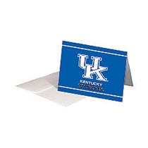Markings by C.R. Gibson; Note Cards, 4 inch; x 5 1/2 inch;, Kentucky Wildcats, Pack Of 12