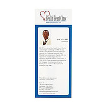 Full-Color Rack Card, 8 1/2 inch; x 3 1/2 inch;, Box Of 50