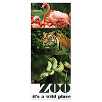 Full-Color Rack Card, Double-Sided, 3 1/2 inch; x 8 1/2 inch;, Matte White, Pack Of 50