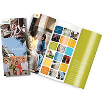 Full-Color Tri-Fold Brochures, 8-1/2 inch; x 11 inch;, Pack Of 25