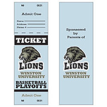 Full-Color Event Tickets, With Backside Printing, Box Of 50
