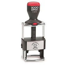 2000 PLUS; R2046 Self-Inking Round Dater Stamp With Microban;, 1 5/8 inch; Diameter Impression