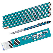 Sanford; Turquoise™ Drawing Pencils, Pack Of 12