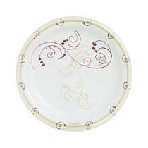 Solo; Symphony Paper Plates, 8 1/2 inch;, Tan, Pack Of 125