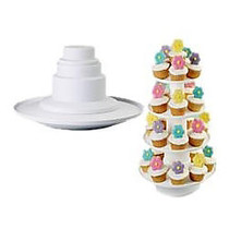 Wilton Stacked 4-Tier Cupcake and Dessert Tower