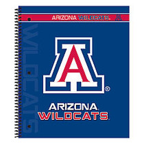 Markings by C.R. Gibson; Notebook, 9 1/8 inch; x 11 inch;, 3 Subject, College Ruled, 300 Pages (150 Sheets), Arizona Wildcats