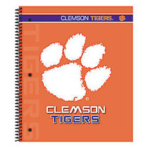Markings by C.R. Gibson; Notebook, 9 1/8 inch; x 11 inch;, 3 Subject, College Ruled, 300 Pages (150 Sheets), Clemson Tigers