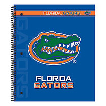 Markings by C.R. Gibson; Notebook, 9 1/8 inch; x 11 inch;, 3 Subject, College Ruled, 300 Pages (150 Sheets), Florida Gators