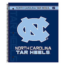 Markings by C.R. Gibson; Notebook, 9 1/8 inch; x 11 inch;, 3 Subject, College Ruled, 300 Pages (150 Sheets), North Carolina Tar Heels