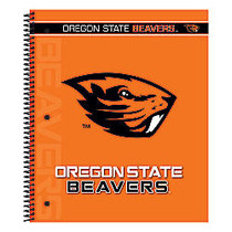Markings by C.R. Gibson; Notebook, 9 1/8 inch; x 11 inch;, 3 Subject, College Ruled, 300 Pages (150 Sheets), Oregon State Beavers