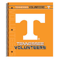 Markings by C.R. Gibson; Notebook, 9 1/8 inch; x 11 inch;, 3 Subject, College Ruled, 300 Pages (150 Sheets), Tennessee Volunteers