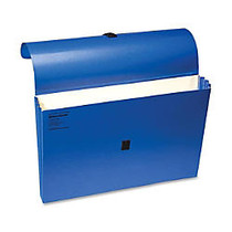 Wilson Jones; ColorLife; Expanding Wallet With Grip Closure, 3 1/2 inch; Expansion, Legal Size, 50% Recycled, Dark Blue