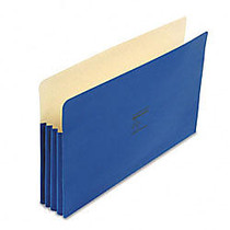 Wilson Jones; ColorLife; File Pockets, 9 1/2 inch; x 14 3/4 inch;, 3 1/2 inch; Expansion, 50% Recycled, Dark Blue, Box Of 25