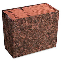 Wilson Jones; Simulated Leather Monthly Expanding File, Pre-Printed Jan-Dec,Letter Size, Tan