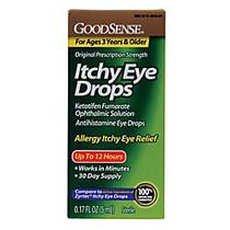GoodSense; Itchy Eye Drops, 0.17 Oz