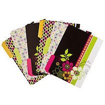 Wilson Jones; Workstyle File Folders, Letter Size, 30% Recycled, Assorted Colors (No Color Choice)