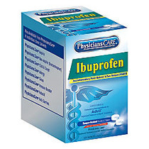 PhysiciansCare Ibuprofen Single Dose Packets, Box Of 125