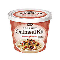 N' Joy; Oatmeal With Gourmet Toppings, Morning Harvest, 27.36 Oz, Pack Of 8