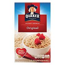 Quaker; Instant Oatmeal, Original, 0.98 Oz, Box Of 12