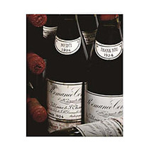 Retrospect Thank You Note Cards With Envelopes, 4 1/2 inch; x 5 7/8 inch;, Wine Bottles, Box Of 10