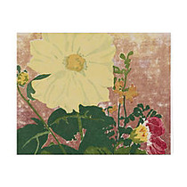 Retrospect Thank You Note Cards With Envelopes, 4 1/2 inch; x 5 7/8 inch;, Yellow Dahlia, Box Of 10