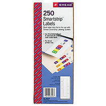 Smead; SmartStrip; End-Tab Labeling System, Pack Of 250 Labels
