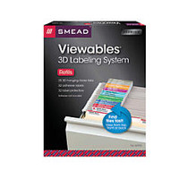 Smead; Viewables; Labeling System For Hanging Folders, Refill Kit, Pack Of 25 Labels