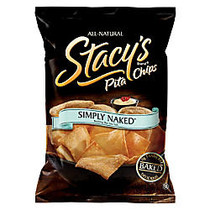 Stacy's Pita Chips, Naked, 1.5 Oz, Pack Of 24