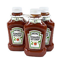 Heinz Tomato Ketchup, 44 Oz Bottle, Pack Of 3