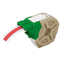 Leitz; Icon Smart Labeling System Plastic Label Cartridge, 1/2 inch; x 33', Red
