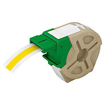 Leitz; Icon Smart Labeling System Plastic Label Cartridge, 1/2 inch; x 33', Yellow
