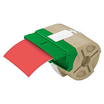 Leitz; Icon Smart Labeling System Plastic Label Cartridge, 3 1/2 inch; x 33', Red