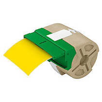 Leitz; Icon Smart Labeling System Plastic Label Cartridge, 3 1/2 inch; x 33', Yellow