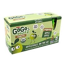 Materne GoGo Squeez Organic Applesauce Pouches, 3.2 Oz, Box Of 16