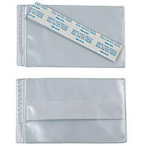 SuperScan; Vinyl Envelope, 3 inch; x 5 inch;, Clear, Pack Of 50