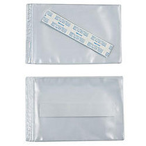 SuperScan; Vinyl Envelope, 4 inch; x 6 inch;, Clear, Case of 50