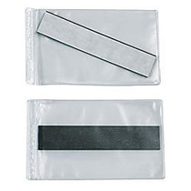 SuperScan; Vinyl Envelopes, 3 inch; x 5 inch;, Clear, Case of 50