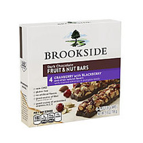 Brookside Dark Chocolate Fruit & Nut Bars, Cranberry With Blackberry, 4 Bars Per Box, Pack Of 2 Boxes