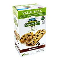 Cascadian Farm Organic Chocolate Chip Granola Bars, 1 1/2 Lb, Box Of 20