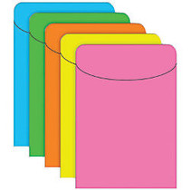 Top Notch Teacher Products; Brite Pockets, 5 1/2 inch; x 3 1/2 inch;, Assorted Colors, Case Of 500