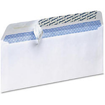 TOPS No. 10 Pull/Seal Security Envelopes - Security - #10 - 24 lb - Pull & Seal - Paper - 100 / Box - White