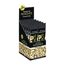 Wonderful Pistachios, Roasted And Salted, 1.25 Oz, Box Of 12