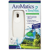 TimeMist AroMatics Meadow Breeze Air Freshener Kit - 50 Hour - 60 Day(s) Refill Life - Meadow Breeze - 1 Each - White