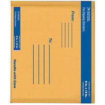 USPS; Premium Kraft Bubble Mailers, #2, 9 inch; x 12 inch;, Pack Of 6