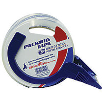 United States Postal Service; HD1 Heavy-Duty Packaging Tape With Bandit™ Dispenser, 3 inch; Core, 1 7/8 inch; x 40 Yd.