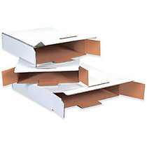Office Wagon; Brand White Side Loading Locking Mailers, 12 1/8 inch; x 11 5/8 inch; x 2 5/8 inch;, Pack Of 50