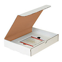Office Wagon; Brand White Single CD Literature Mailers, 11 1/8 inch; x 8 3/4 inch; x 3 inch;, Pack Of 50