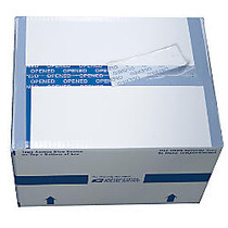 United States Postal Service; White Security Shipping & Mailing Box, 10 inch; x 8 inch; x 12 inch;