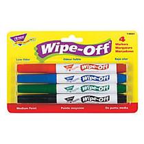 Trend Enterprises Wipe-Off; 4-Color Marker Packs, Standard Colors, Pack Of 6